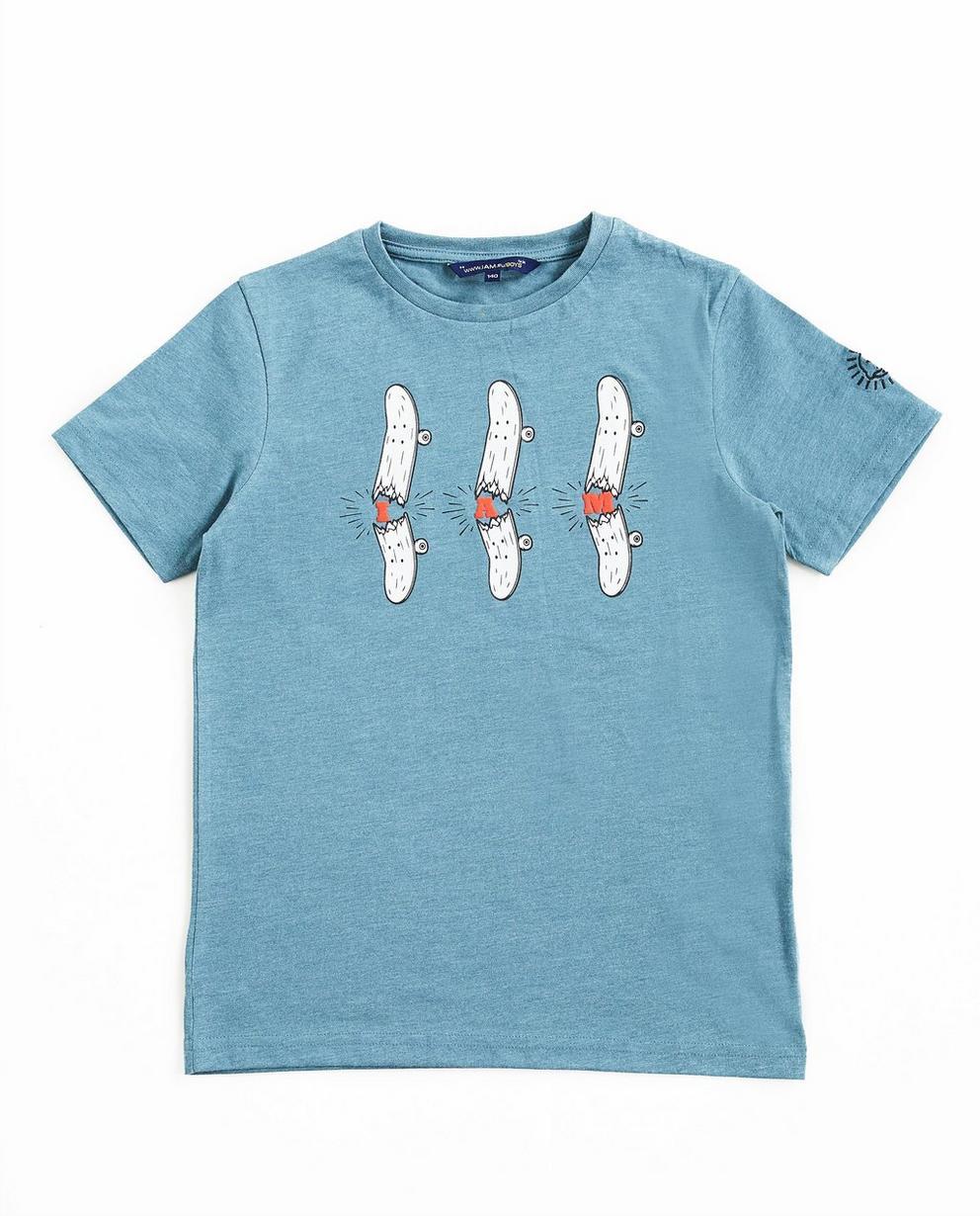 T-shirt en coton bio - avec un imprimé, I AM - I AM